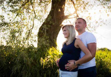 sesja ciążowa plener brzuszkowa szczecin ciąża