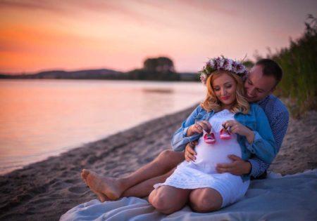 sesja ciążowa w plenerze szczecin fotograf zdjęcia w ciąży