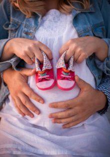 sesja brzuszkowa plener ciążowa szczecin