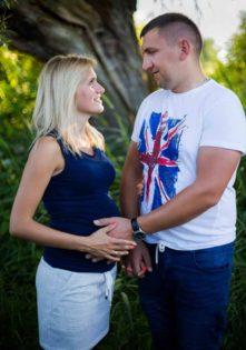 sesja ciążowa plener szczecin foto studio