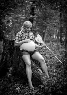 fotografia ciążowa sesja brzuszkowa plener szczecin