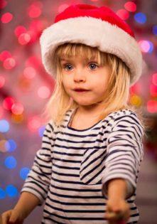 sesja dziecięca świąteczna zdjęcia dzieci na święta