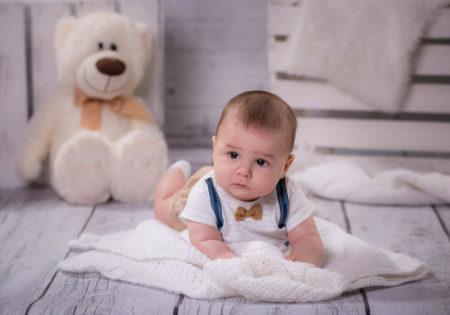 sesja foto dziecka na roczek studio szczecin
