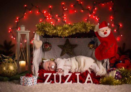 świąteczne zdjęcia dzieci świąteczna sesja fotograficzna