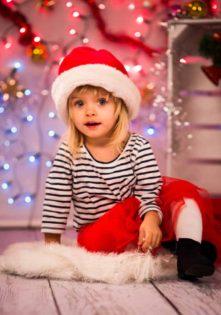 świąteczna sesja dziecięca dla dziecka fotograf szczecin