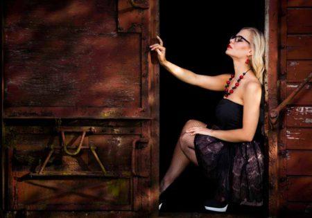 sesja modowa kobieca portret plener szczecin