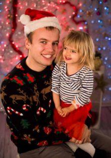 rodzinna sesja świąteczna szczecin studio