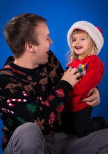 sesje świąteczne rodzinne foto studio