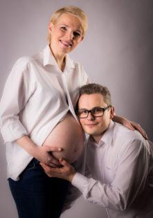 sesja brzuszkowa studio sesja ciążowa w domu szczecin