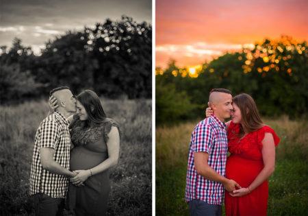 sesje brzuszkowe w plenerze sesja ciążowa szczecin cena fotograf