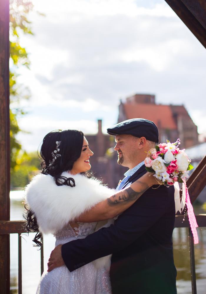 sesja zdjęciowa ślubna plener ślubny fotograf wesele