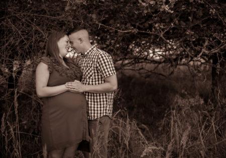 zdjęcia w plenerze artystyczne sesja ciążowa szczecin