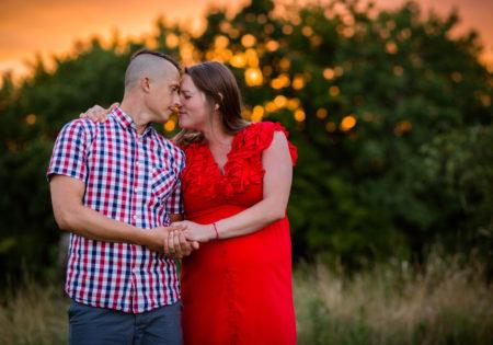 sesje narzeczeńskie zdjęciowe plener szczecin par zakochanych
